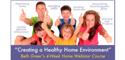 Creating a Healthy Home Webinar Course