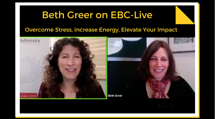 """""""Overcome Stress, Increase Your Energy and Elevate Your Impact"""" 