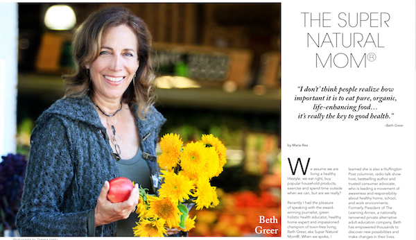 Beth Greer's cover story in My Authentic Life Magazine (Feb. 2018 issue). Click to read the article (PDF)