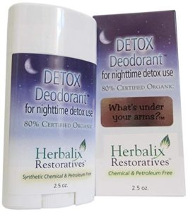 Detox Deodorant for Nighttime Use by Herbalix Restoratives™