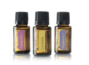 Image of bottles of dōTERRA Essential Oils