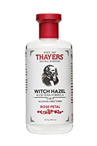 Thayers Alcohol Free Rose Petal Witch Hazel Toner with Aloe Vera